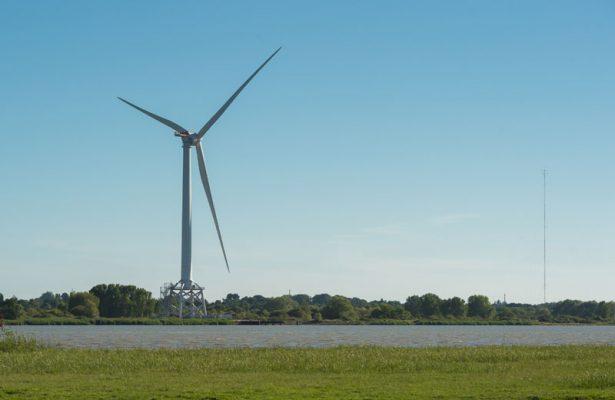 éolienne du Carnet estuaire de la Loire