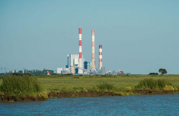 Centrale EDF de Cordemais estuaire de la Loire