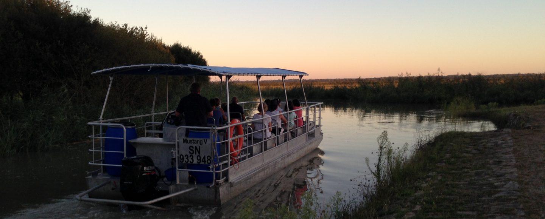Croisière sur l'estuaire de la Loire en bateau à fond plat