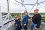 Ascension en famille ballon Terre d'estuaire