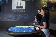 Dispositif interactif naufrages estuaire de la Loire