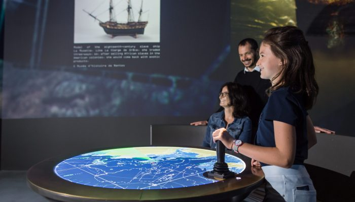 Dispositif interactif naufrages estuaire de la Loire