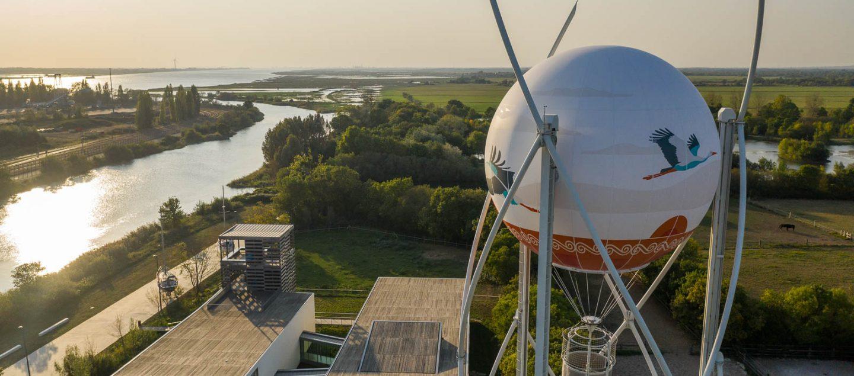 vue estuaire Loire depuis ballon terre d'estuaire Cordemais