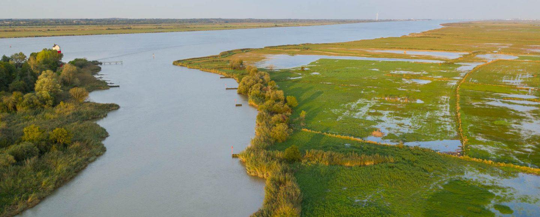étier Cordemais estuaire de la Loire
