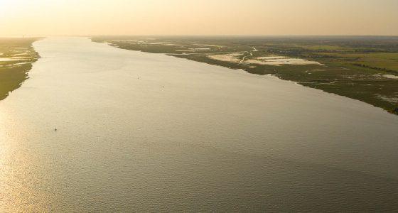vue panoramique estuaire de la Loire