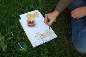dessins ateliers enfants TERRE D'ESTUAIRE
